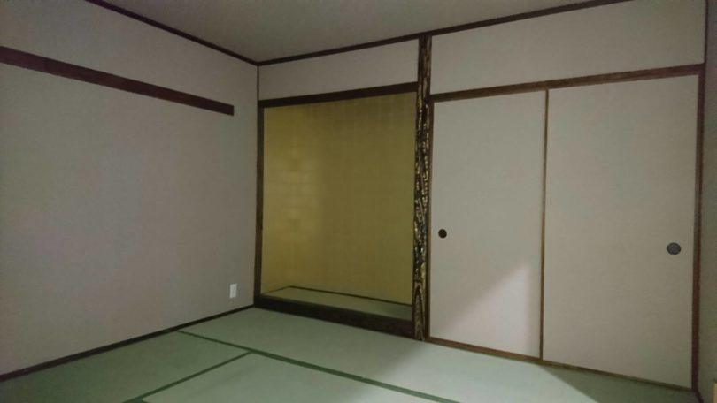 リノベーション後のマンションの和室
