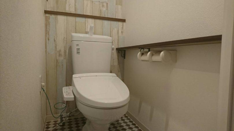 フルリフォーム後の中古マンションのトイレ