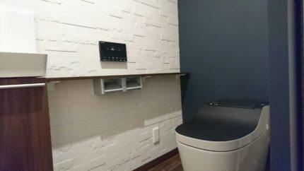 トイレも高級感ある仕様にリノベーション