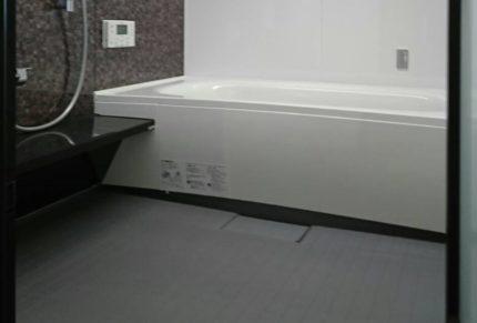 高級マンションの風呂にリノベーション